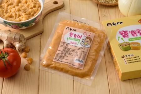 常溫寶寶粥-蕃茄洋蔥珠貝雞粥 (副食品) 2入/1盒