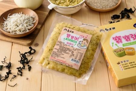 【郭老師】常溫寶寶粥-海菜吻仔魚粥 (副食品) 2入/1盒