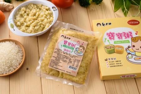 【郭老師】常溫寶寶粥-五色蔬菜雞粥 (副食品) 2入/1盒