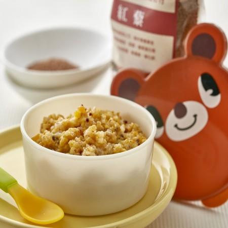 郭老師寶寶粥-藜麥南瓜胚芽米燉飯(副食品)