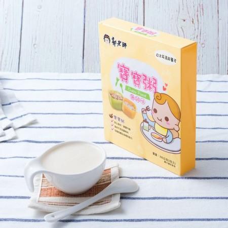 郭老師寶寶米泥-白木耳馬鈴薯泥 2入/1盒