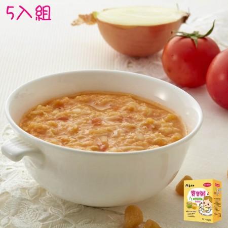 郭老師寶寶粥-蕃茄洋蔥珠貝雞粥5入組(副食品)