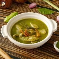 椰汁綠咖哩雞 250g