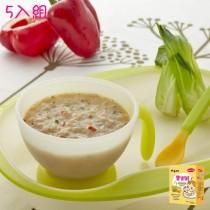 郭老師寶寶粥-甜椒豬肉粥5入組(副食品)